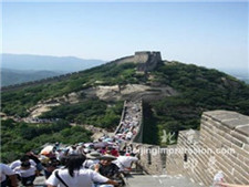 Beijing one day travel to Great Wall (Badaling) & Longqing Gorge
